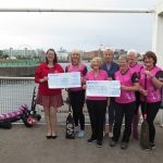 Charity cheque handover 18th August