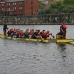 The Storrsy Sailors getting to grips with their sea legs!