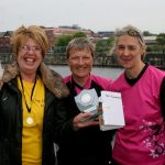 Winner of the 'Best Fund-raiser' prize with a promise of £2400!