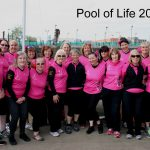 Pool of Life team raced at  the festival